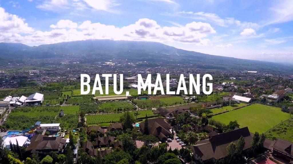 Pemandangan Kota Batu Malang