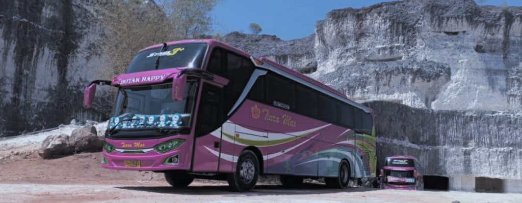 Gambar bus pariwisata hdd
