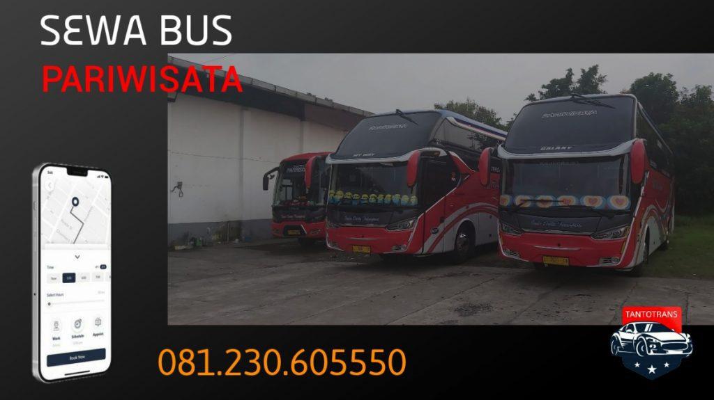 Gambar harga sewa bus pariwisata
