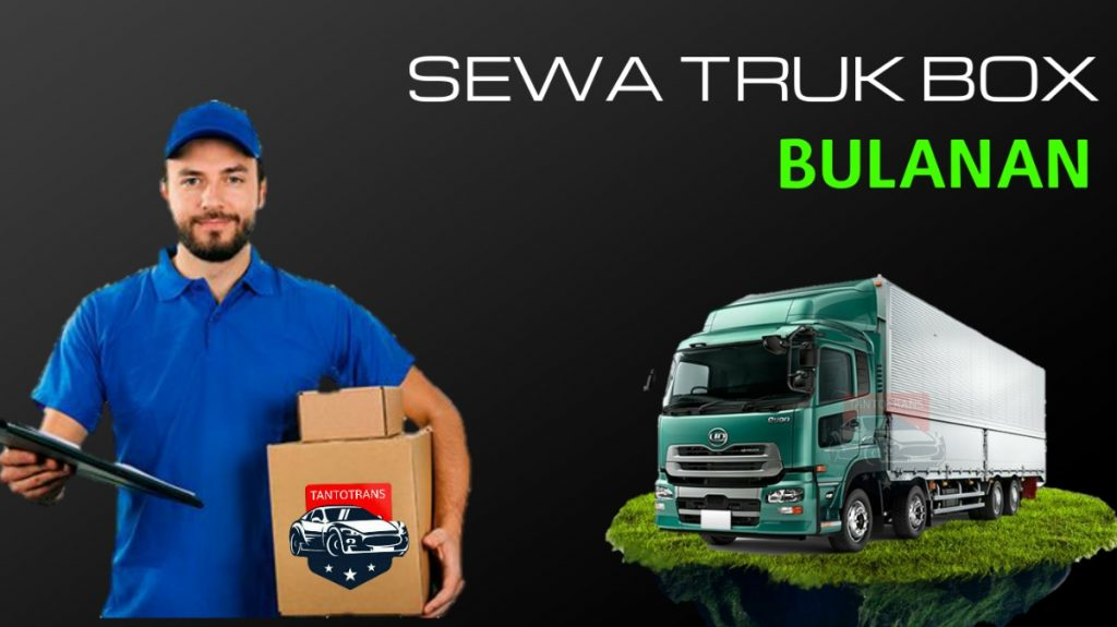 Gambar sewa truk box bulanan