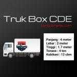 Gambar truk cde box